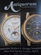 ANTIQUORUM Catalogo JUNE 2012 New York   [C46A]