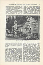 1920  Hudson Bay Company Pacific Northwest vintage magazine article