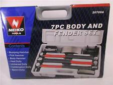 Neiko 20709A Heavy Duty Auto Body Hammer and Dolly Kit, 7 Piece, 20709A, 20709A