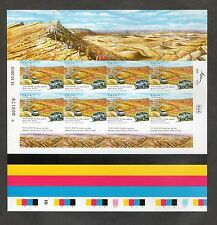 Israel Scott #2003-05 Ancient Erosion Craters Imperforate Sheets MNH!!