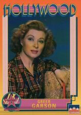 Greer Garson, Actress, Hollywood Star, Walk of Fame Trading Card -- NOT Postcard