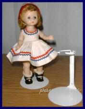 """KAISER White Doll Stand for 8"""" Madame Alexander GINNY Riley U.S. Ships Free"""