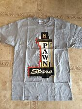 Pawn Stars Sign LIMITED EDITION T-shirt Grey MEDIUM History Channel Chumlee