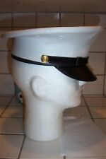 NEW USMC MARINE CORPS ENLISTED DRESS BLUES CAP SIZE 6 5/8 ENLISTED SERVICE CAP