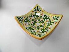 Svuota tasche decorato a mano ceramica di Caltagirone L 16 cm