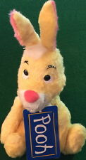 "DISNEY 1998 Furry RABBIT from POOH Bean Bag PLUSH 6"" Tall TOKYO Japan NAKAJIMA"
