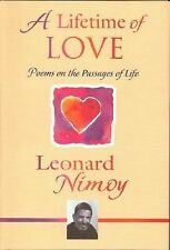 A Lifetime of Love: Poems on the Passages of Life by Nimoy, Leonard