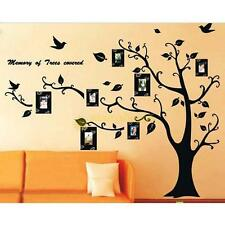Black Tree Removable Decal Room Wall Sticker  DIY Home Family Decor Vinyl Art
