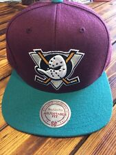 Mighty Ducks Mitchell N Ness Anniversary Edition SnapBack