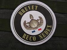Patch Velcro PVC - RECO NEDEX FRANCE - mali afrique afghanistan GENIE air pétaf