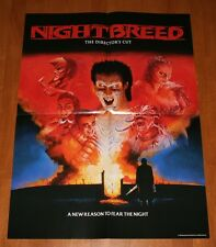 Nightbreed Ltd Ed Poster Only NEW Shout / Scream Factory Sold Out OOP