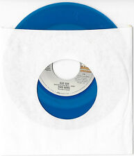 David BOWIE Blue Jean/Dancing With the Big Boys BLUE VINYL PICTURE SLEEVE 45