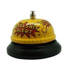 Bullshit Desktop Bell, adult joke novelty secret Santa Christmas gift DP0993