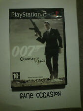 007 QUANTUM OF SOLACE PS2 PLAYSTATION 2 SONY COMPLET PAL