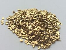 Genuino naturale dell' Alaska fiocchi / Polvere Pan GOLD NUGGETS 1/4 GRAMMO
