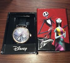 New Disney The Nightmare Before Christmas Jack Sally Now & Forever Wrist Watch