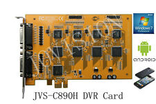 16 channel dvr card security cctv recorder,PCI-E win 7&8 32&64 Bit, cloudSEE p2p
