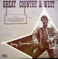 LP / HARRY BONANZA / GREAT COUNTRY & WEST  / AUSTRIA PRESSUNG / RARITÄT /