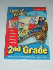 PC/Mac READER RABBIT 2nd Grade Skills Math Reading Science Thinking Creativity