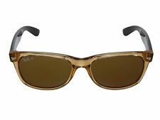 New Ray Ban New Wayfarer RB2132 945/57 Honey/Polar Brown Lens 55mm Sunglasses