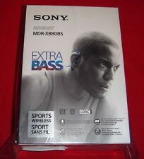 Sony MDR-XB80BS/L, Wireless, In-Ear, Sports Headphone, Blue MDR-XB80BS/L - NEW!