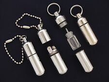 New Mini Survival Waterproof Peanut Capsule Lighter With Extra Fuel Tank !! EDC