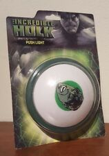 2008 INCREDIBLE HULK PUSH LIGHT MARVEL COMICS BEST BRANDS PRODUCTS MIB MOC MINT!