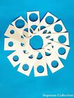100 Assorted Coin Holders 2X2 Cardboard Mylar Flips You Pick Size New 12 Sizes