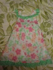 GIRLS 4T PIPPA & JULIE BOUTIQUE FLOWER DRESS ADORABLE GREAT SHAPE FREE SHIPPING