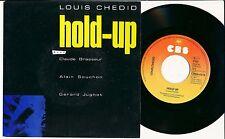 LOUIS CHEDID 45 TOURS HOLLANDE HOLD UP CLAUDE BRASSEUR ALAIN SOUCHON JUGNOT
