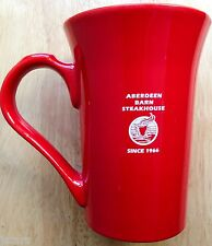 ABERDEEN BARN STEAK HOUSE RESTAURANT WARE COFFEE MUGS, VIRGINIA BEACH, VA