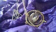 Harry Potter pendant set of three Deathly hallows Time Turner Always