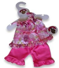 Teddy Bear Clothes fits Build a Bear Teddies Candy Lace Dress & Legging Clothing