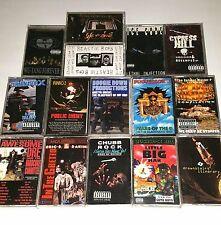 15 TAPE CASSETTE Lot RAP BEASTIE BOYS RAKIM Wu Tang Nwa Og Boombox ghettoblaster