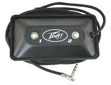 Peavey Multi-purpose 2-button footswitch, New!