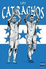 FIFA World Cup Soccer Event Brazil | TEAM HONDURAS Poster | 13 x 19 Inches