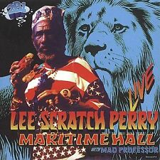 "Live at Maritime Hall by Lee ""Scratch"" Perry (CD, Jun-1998, Maritime Hall Pro..."