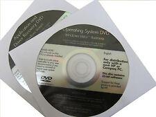 HP 2510p/2710p Windows Vista Business 32-Bit DVD Recovery Media (443532-002)