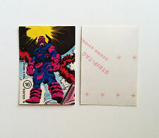 1986 MARVEL UNIVERSE STICKER #16 GALACTUS NM/M SILVER SURFER FANTASTIC FOUR FF