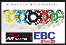 EBC Vee Rotor Front Brake Disc for Kawasaki ZZR 1400 2006-2013 Green or Black