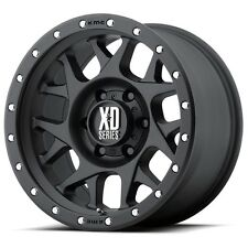 17 Inch Black Wheels Rims Chevy Silverado 2500 3500 1500HD Truck 8 Lug XD XD127