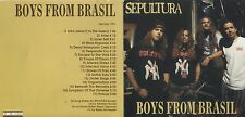 SEPULTURA - Boys from Brasil - LIVE Lille May 1991 - ON STAGE Records