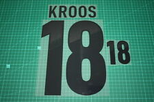 Germany 12/14 #18 KROOS Homekit Nameset Printing