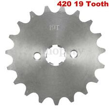 Pit Dirt Bike 19 Tooth 420 17mm Front Counter Sprocket 70cc 110cc 125cc PITBIKE