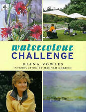 Watercolour Challenge (Art) Hardcover - Diana Vowles, Hannah Gordon