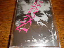 Napalm Death CASSETTE Fear Emptiness Despair