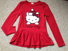 GIRLS HELLO KITTY TOP FROM TU  AGE 12 YEARS  EX COND