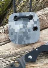 Camo/foliage Custom Kydex Neck Sheath For Spyderco C178GP Kiwi 4 - Only A Sheath