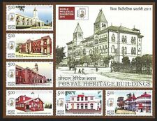 India 2010 Postal Heritage MS miniature sheet MNH