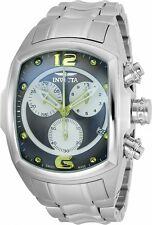 @NEW Invicta Tonneau Lupah Revolution Swiss Made Chronograph on Bracelet 90070